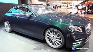 Mercedes E 300 : 2018 mercedes benz e class e 300 coupe exterior interior walkaround debut 2017 geneva motor ~ Medecine-chirurgie-esthetiques.com Avis de Voitures