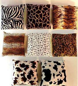 cuscino 80x80 federa cuscino eco pelliccia africa safari 35x35 40x40