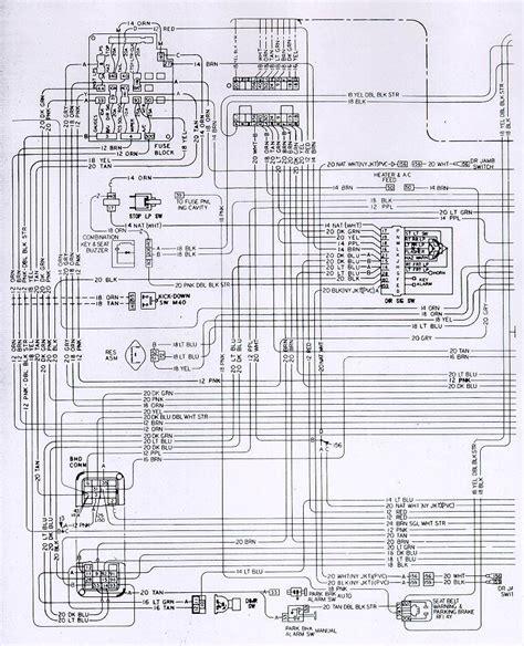 Camaro Fuse Block Wiring Schematic Circuit