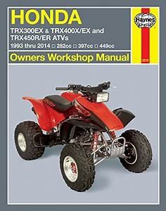 Haynes Repair Manual 2318 For Honda Trx 300 400 450
