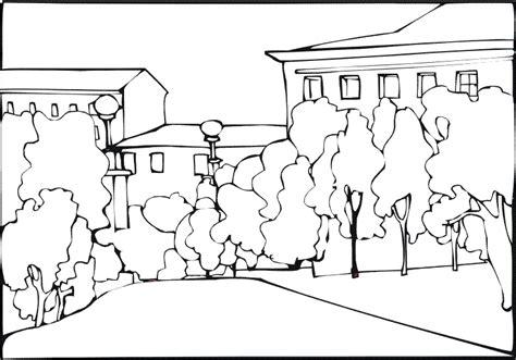 disegni semplici da fare con gli acquerelli colora i paesaggi 1