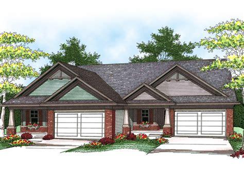 forrester creek ranch duplex plan   house plans
