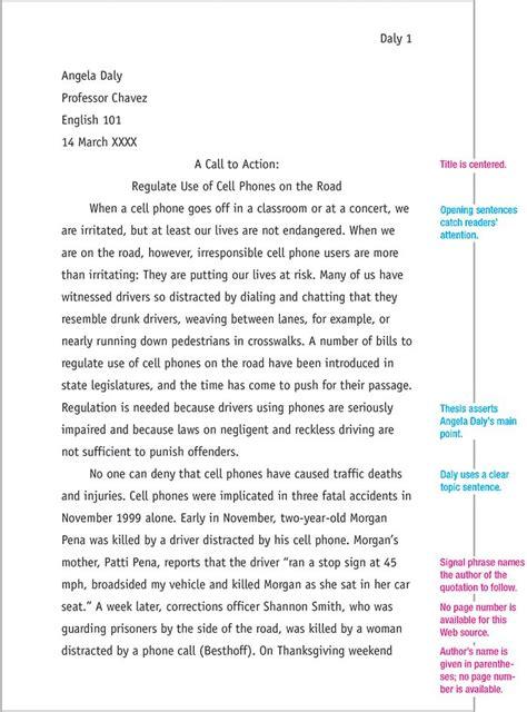 mla format sample paper essay format sample paper