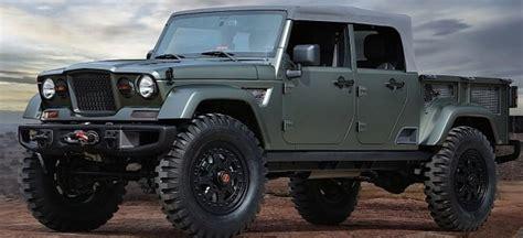 2020 jeep truck 2020 jeep wrangler truck price release specs
