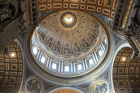 Cupola Roma by Climbing Up St Peter S Basilica S Dome Delightfully Italy