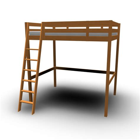 loft bed ikea stor 197 loft bed frame design and decorate your room in 3d