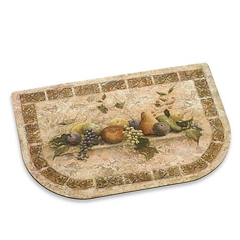 cushioned kitchen floor mat tuscan palette 22 inch x 34 inch cushioned floor mat bed 6336