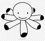 Octopus Coloring Pngfind sketch template