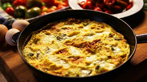 Zucchini And Feta Frittata Recipe