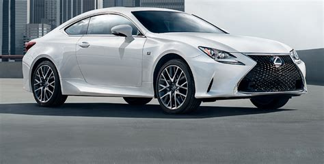 lexus rc   sport colors release date redesign