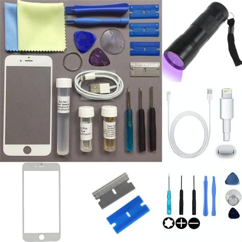 iphone screen replacement kit apple iphone 6 s 6 s plus front glass screen outer lens 1208