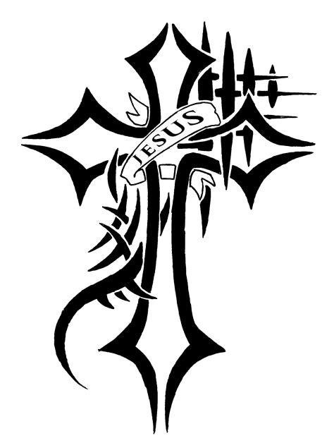 Jesus Cross - Tattoo Request Ver. 2 - Fill by WaruiJaNai on DeviantArt