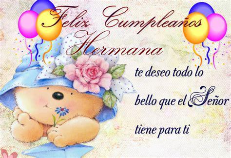 Saludos De Cumpleaños A Mi Hermana