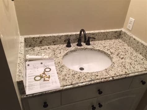 giallo verona vanities a variety of granite colors