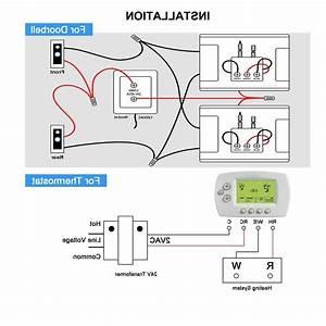 Pro 24v 40va Doorbell Transformer Compatible With Ring