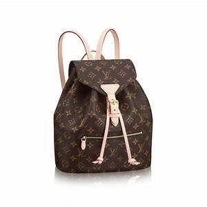Designer Backpack for Women Montsouris LOUIS VUITTON