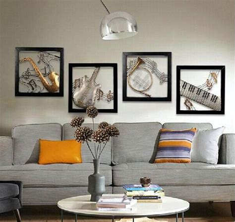 modern home decoration metal wall art  musical