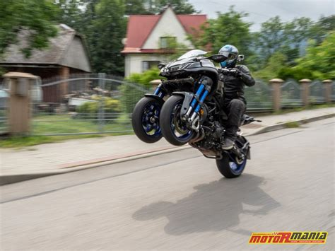 Yamaha Niken Wheelie by Yamaha Niken 2018 Po Co To Komu Test Tr 243 Jkołowego