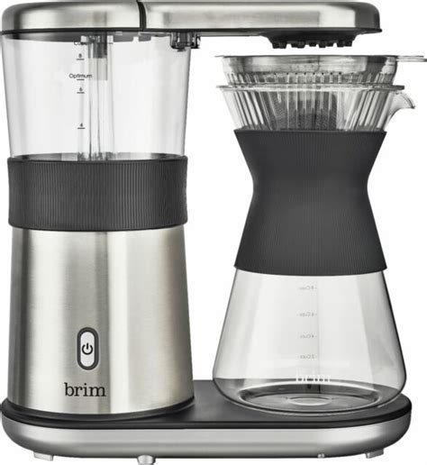 Due to the size/shipping restrictions, this product is not eligible for automatic online. Brim 8-Cup Electric Pour Over Coffee Maker - Stainless Steel for sale online   eBay
