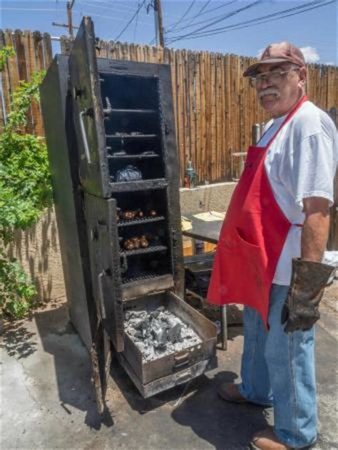 wood pellet smokers the owner with his smoker picture of dc 39 s