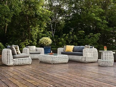 salon de jardin rotin meubles de jardin en rotin toujours un bon choix