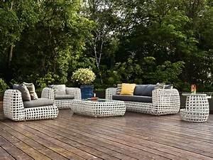 Salon Jardin Rotin : meubles de jardin en rotin toujours un bon choix ~ Melissatoandfro.com Idées de Décoration