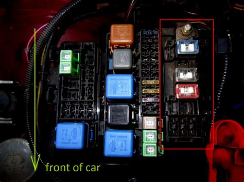 S14 Fuse Box On Side Of by 1995 Nissan 240sx Interior Fuse Box Diagram Brokeasshome