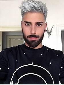 Coupe Homme Cheveux Gris : couleur de cheveux homme gris coiffures la mode de cette saison ~ Melissatoandfro.com Idées de Décoration