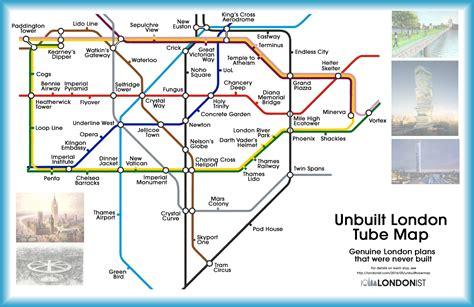 tube map   london    londonist