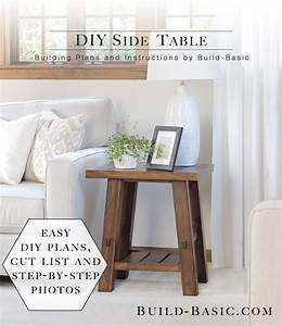 Build, A, Diy, Side, Table, U2039, Build, Basic