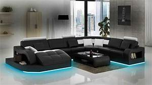 Sofa Mit Led Und Sound : sofas und ledersofas einstein b designersofa ecksofa bei jv m bel ~ Orissabook.com Haus und Dekorationen