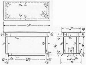 Piano bench plans woodworking Table for breakfast