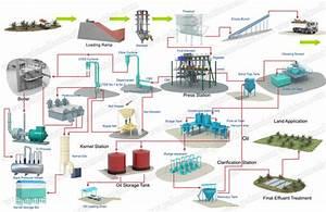 Process Flow Diagram Of Palm Oil Mill Plant Palm Oil