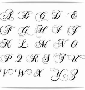 Más de 25 ideas increíbles sobre Tatuajes letras cursivas en Pinterest Tatuajes en letra