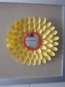 Diy flower mirror d i y college chic
