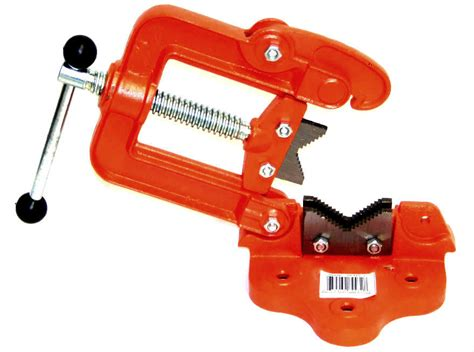 Bench Pipe Vise Clamp On Hinged Type Plumber's Vice #2