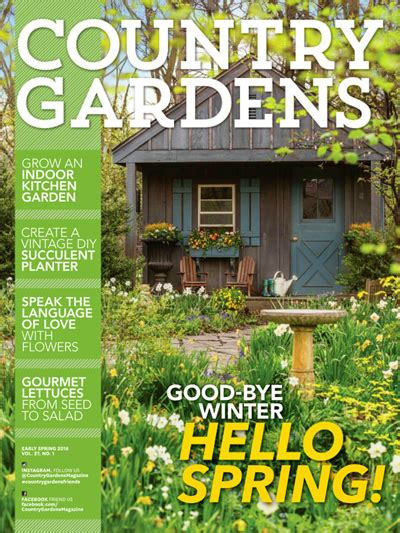 Top 10 Garden Magazines  Better Homes & Gardens, Country