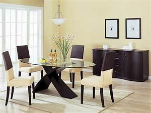 Table à Manger Verre Et Bois : 80 id es pour bien choisir la table manger design ~ Teatrodelosmanantiales.com Idées de Décoration
