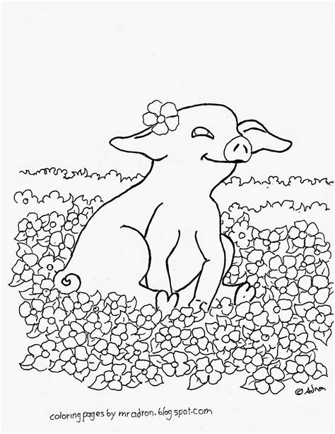 Coloring Pages for Kids by Mr Adron: Free Printable Baby