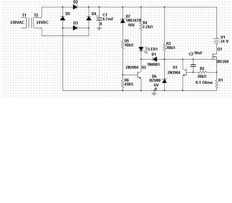 battery charger schematic