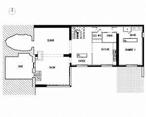 plan architecte maison contemporaine maison moderne With plan de maison architecte