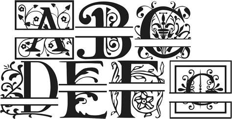 fonts alphabet  svg images  vector alphabet fonts  graphic letters alphabet