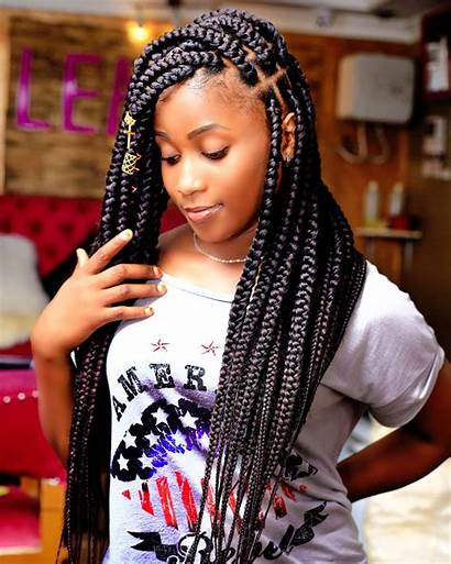 Braids Box Traditional Knotless Updo Styles Accessories