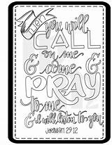 Bible Coloring Call Moss Prayer Journal Printable Quotes Journaling Adult Prayers Children Crafts Church sketch template
