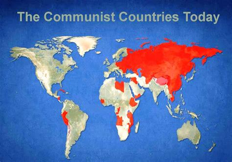 What Countries Are Communist Now  Countries Of The World