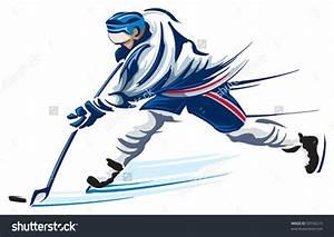 Hockey Slap Shot Clip Art (26+)