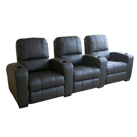 wholesale interiors set of three leather home theater