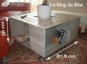 Table Bar Bois : table basse bar en bois de palettes pallet coffee table with bar 1001 pallets ~ Teatrodelosmanantiales.com Idées de Décoration