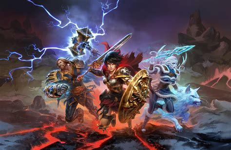 SMITE Battleground Of The Gods, HD Games, 4k Wallpapers ...