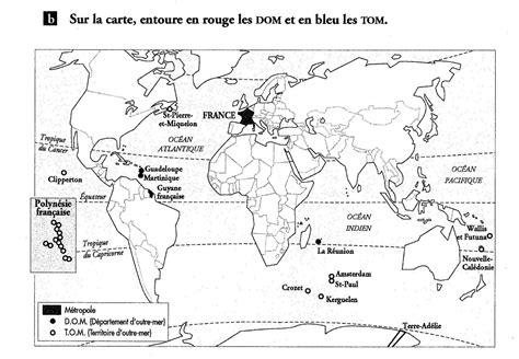 Carte Relief Monde Cycle 3 by Cartes Dom Tom Une 233 E En Cm1 Cm2